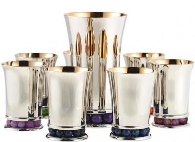 Aviv Kiddush Cup Set