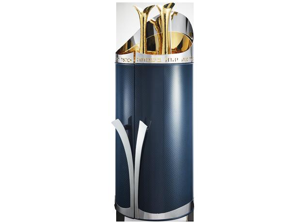 Blue Carbon Fiber - Torah Case