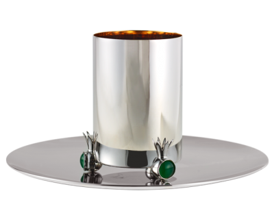 Large Pomegranate Kiddush Cup