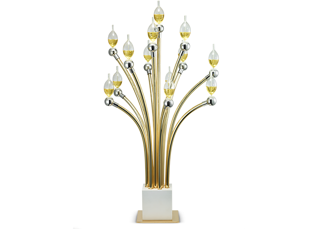 The Stars Candelabra - Gold