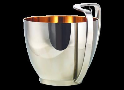 Judah Washing Cup with White Corian Base